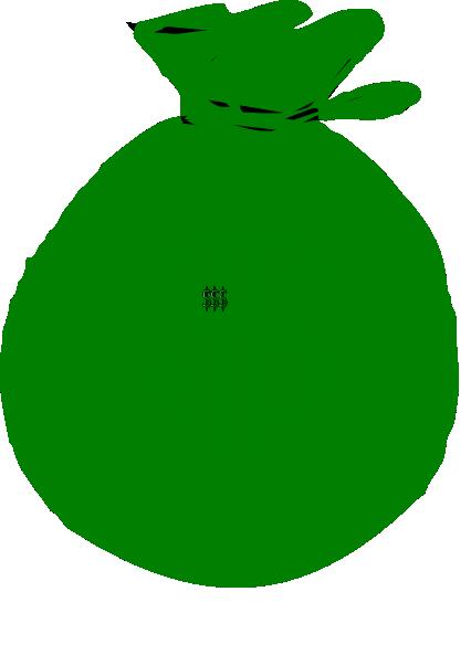 1 Money Bag Clip Art at Clker.com - vector clip art online ... - Money Duffle Bag Drawing