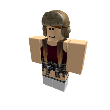 My ROBLOX character at the moment D
