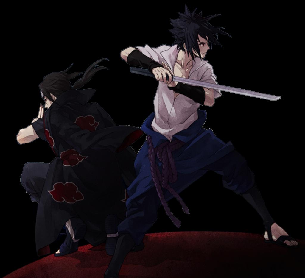 PNGSasuke y Itachi