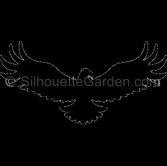 Pin on Silhouette Clip Art at SilhouetteGarden.com - Native American Eagle Silhouette