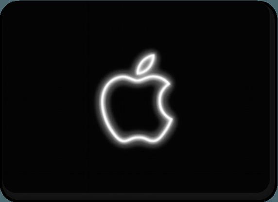 Neon Apple Logo videopost  milarakicom