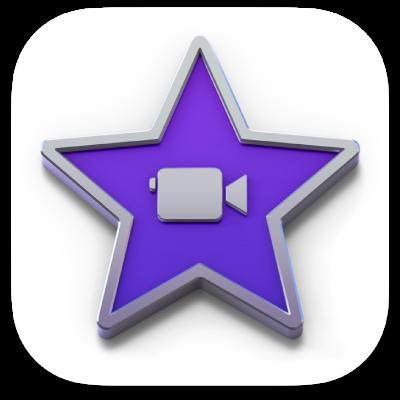 Neon Purple Imovie Icon  120 purple neon ios 14 app icon