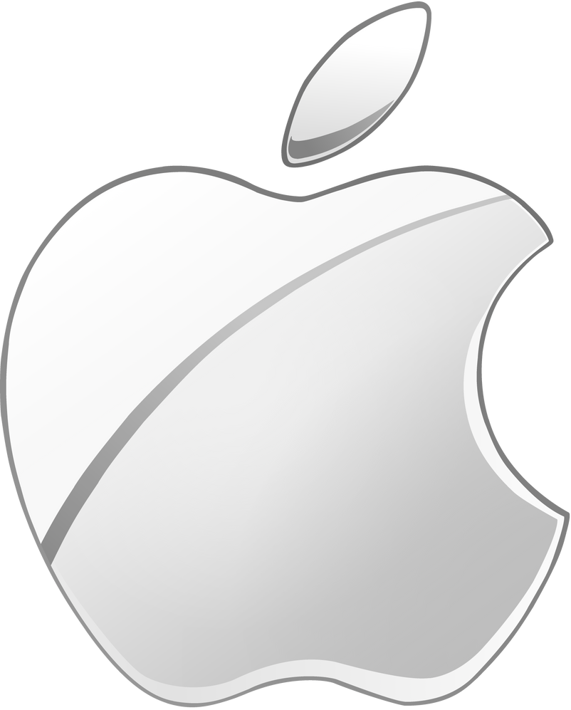 late giftSilver Apple logo vector2 by WindyThePlaneh