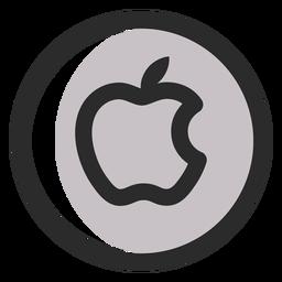 Apple logo  Transparent PNG  SVG vector