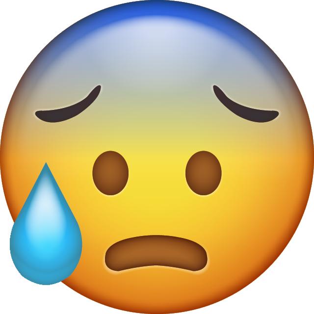 Nervous clipart nervous emoji Nervous nervous emoji