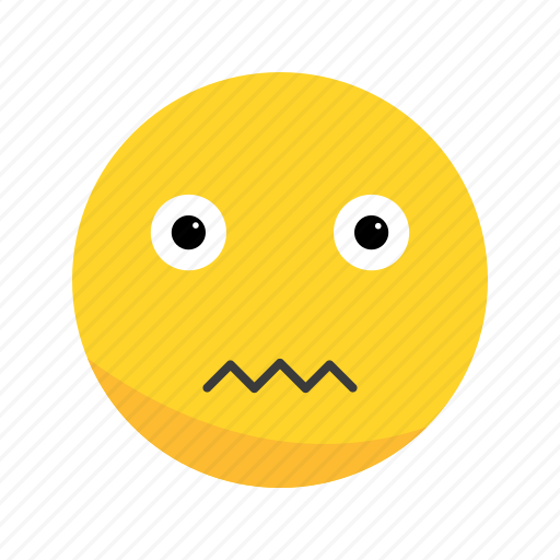 Emoji emoticon nervous icon  Download on Iconfinder
