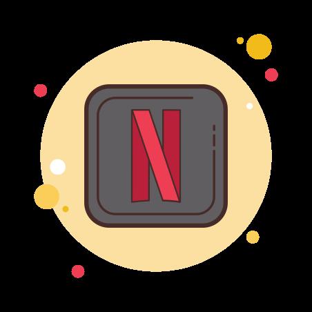 Netflix Desktop App Icon  Free Download PNG and Vector