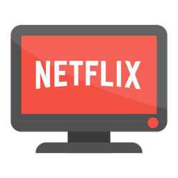 Netflix Icon of Flat style  Available in SVG PNG EPS