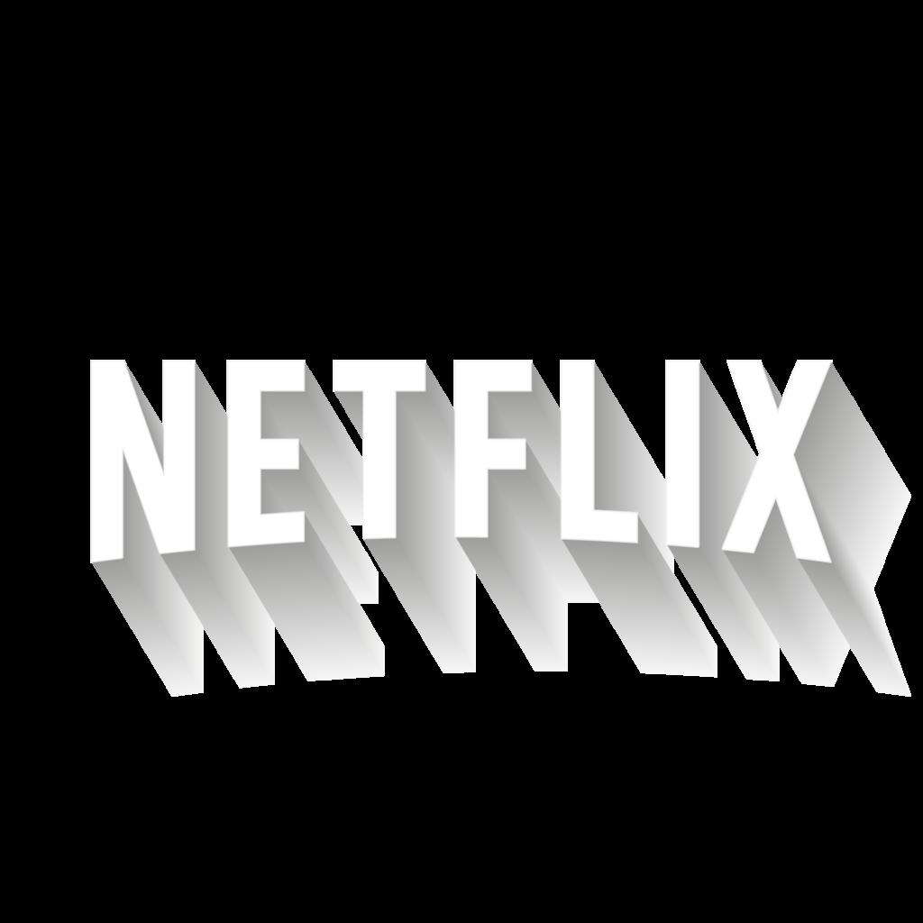 Netflix Logo Black And White Transparent  Latest Gaming