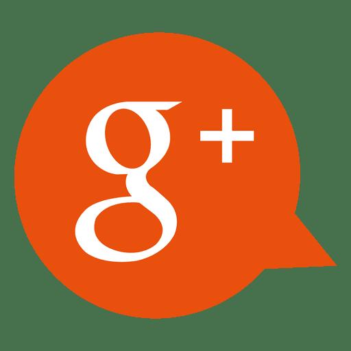 Google plus bubble icon  Transparent PNG  SVG vector file