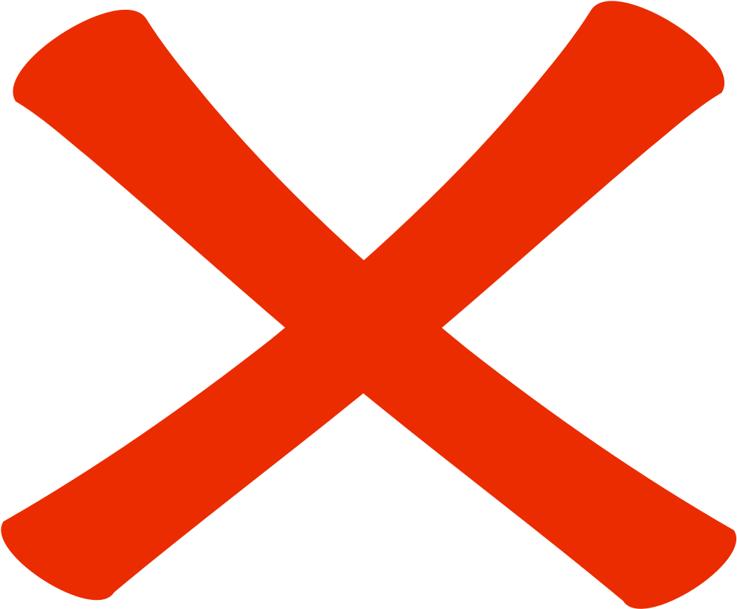 Library of x mark picture freeuse stock transparent ... - No Red X Icon