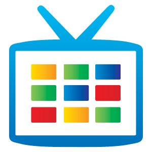 Google TV icon vector in EPS AI CDR free download