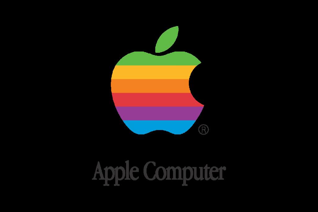 Old Apple Computer Logo  LogoShare
