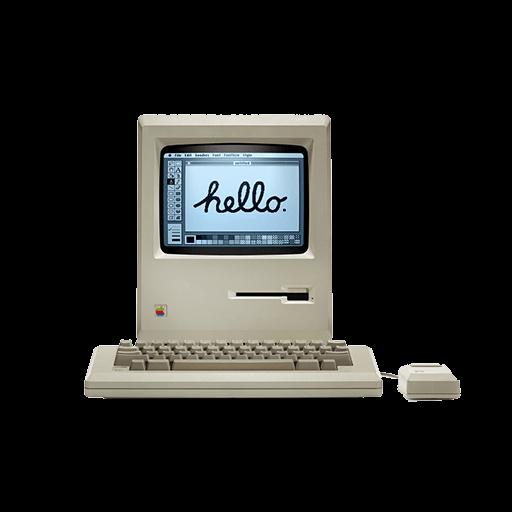 Apple Old Mac Computer  DesignBust