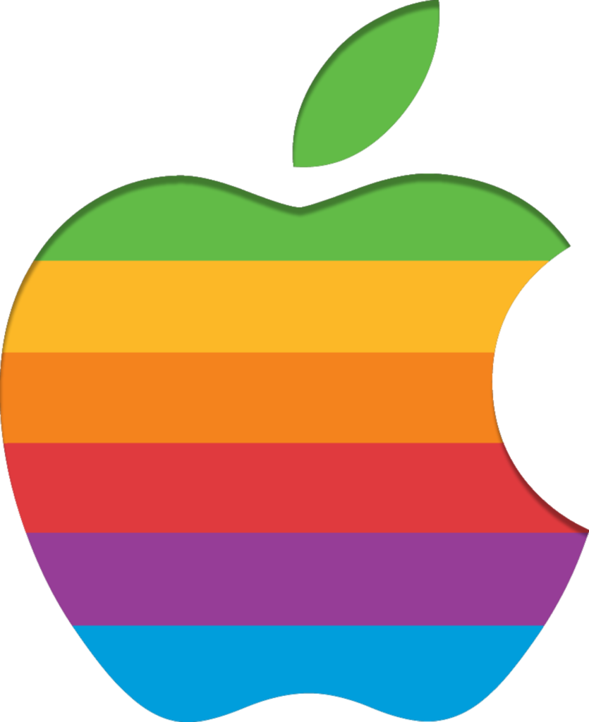 Free Rainbow Apple Cliparts Download Free Clip Art Free