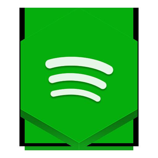 Spotify Icon  Hex Iconset  Martz90
