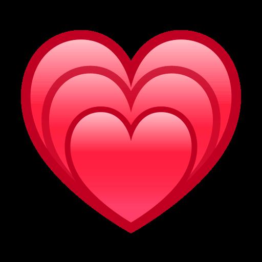 List of Phantom Symbol Emojis for Use as Facebook Stickers ... - Open Heart Emoji