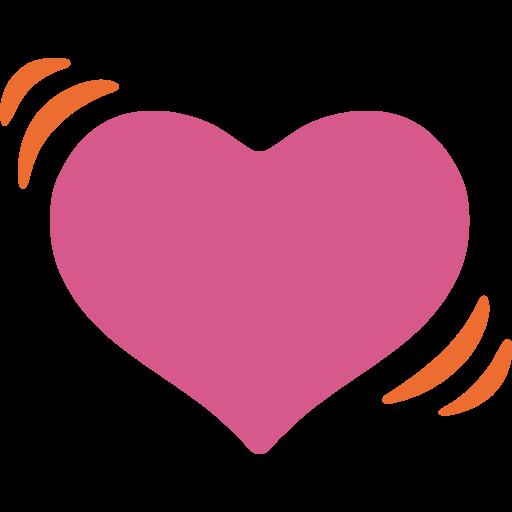 Beating Heart  ID 12942  Emojicouk