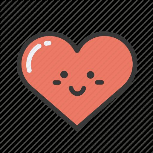 Emoji emojis emoticon heart hearts love valentines icon