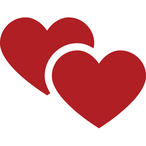 Two Hearts Emoji for Facebook Email  SMS  ID 2023