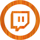 Sketchy orange twitch tv 2 icon  Free sketchy orange site
