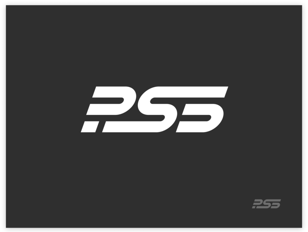 PS5 logo by Evan Place for unfold on Dribbble