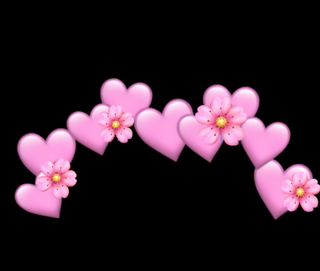 flower heart pink pastel pinkpastel pastelcolor emoji