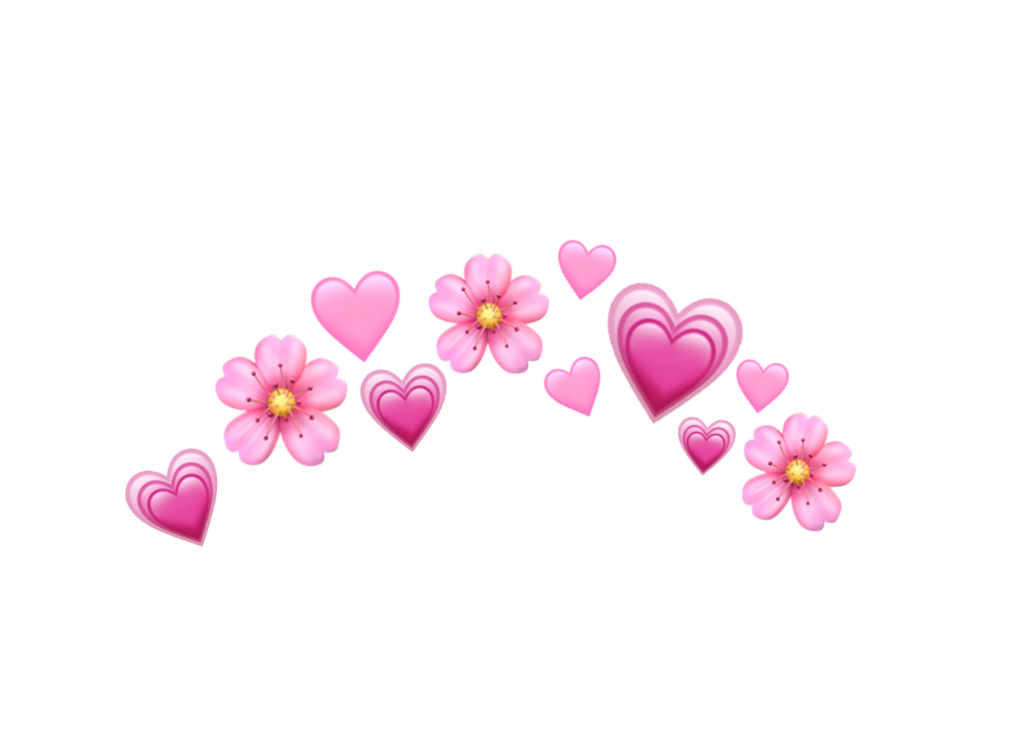 heart hearts pink pinkemoji emoji pinkheart emojis crow