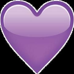 purple violet tumblr heart emoji  Sticker by Ire