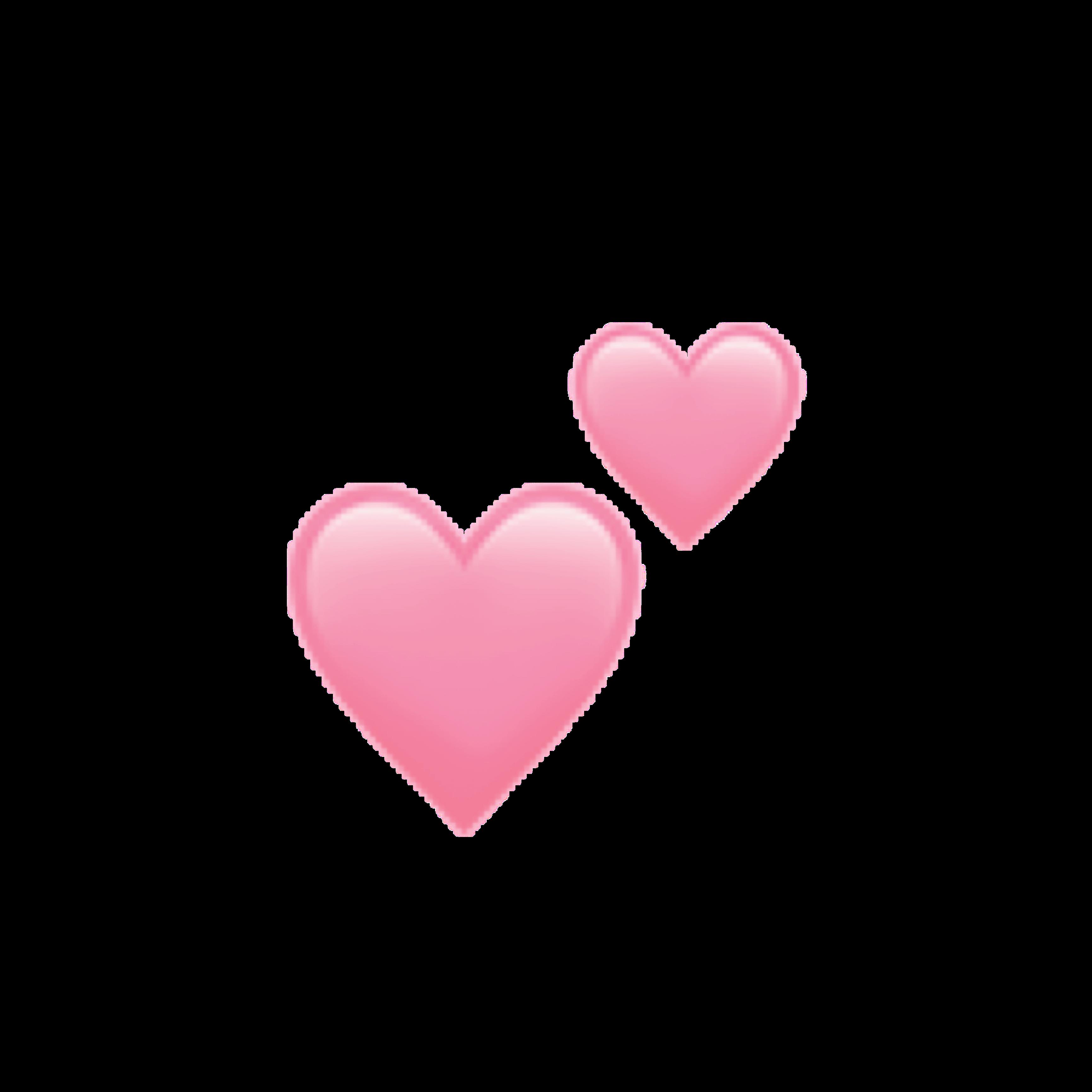 Aesthetic Pink Heart Emoji Transparent - Largest Wallpaper ... - Pastel Heart Emoji