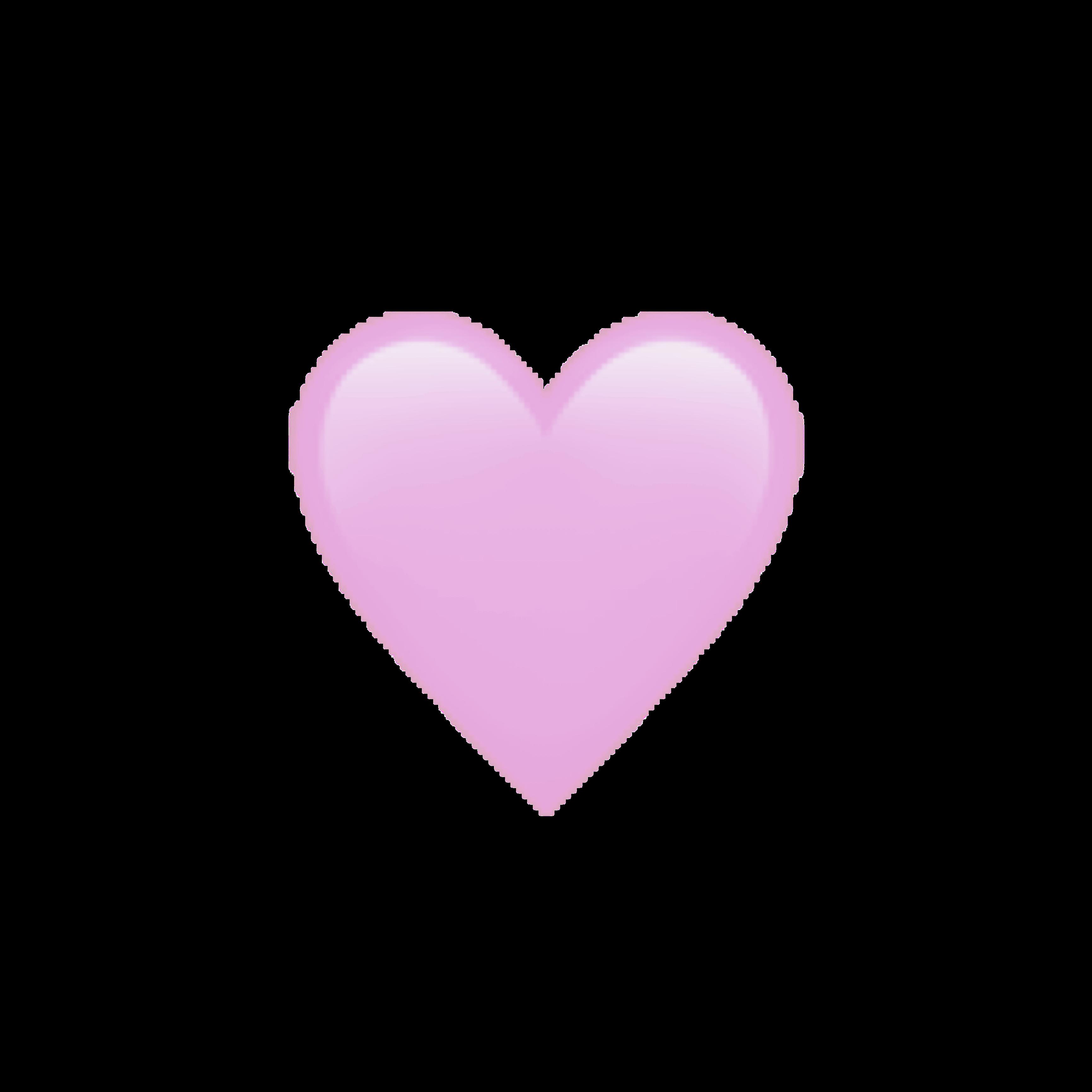 heart aesthetic pastel kawaii emoji heartemoji heartemo... - Pastel Heart Emoji