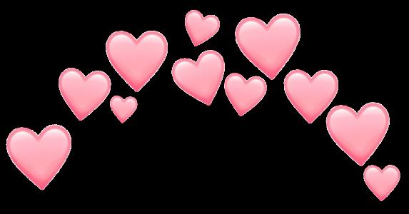 emojis emoji hearts pink pastel pastelpink