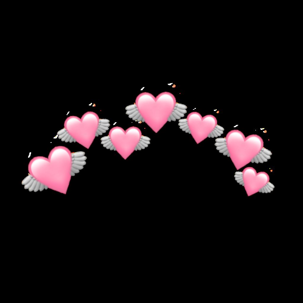heart pink pastel pinkpastel pastelcolor emoji crown