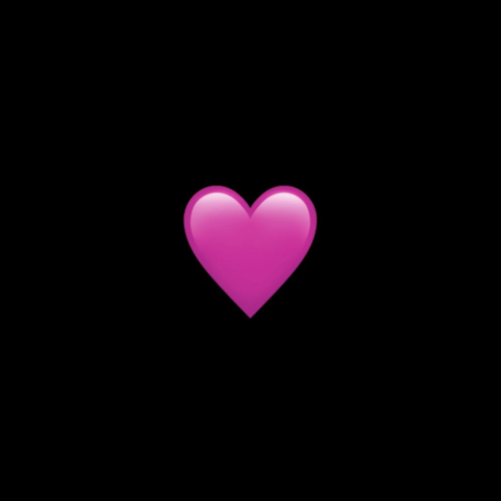 emoji aesthetic heart pink pastel cute mine freetoedit