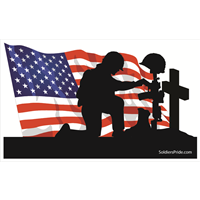 All gave some  Some gave all God Bless our fallen