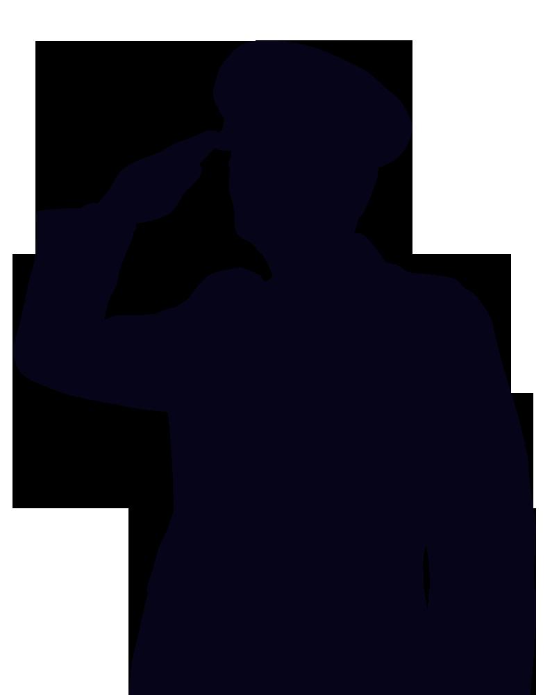 American Soldier Silhouette at GetDrawings  Free download