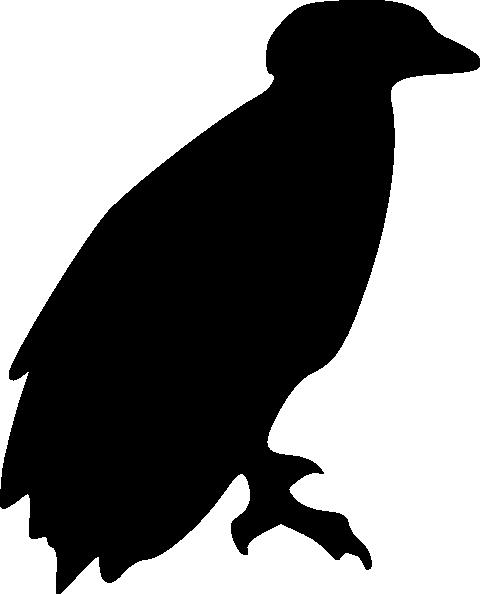 Eagle Perching Silhouette Clip Art at Clkercom  vector