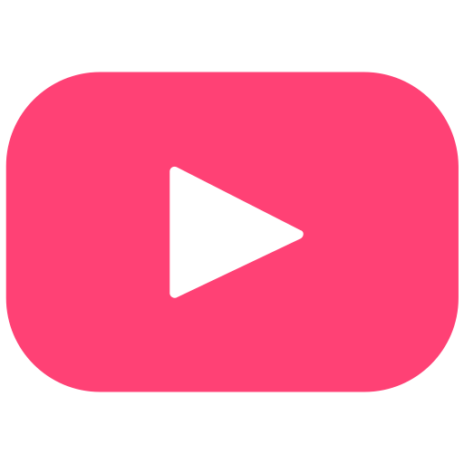 video player subscribe Logo Channel tube youtube