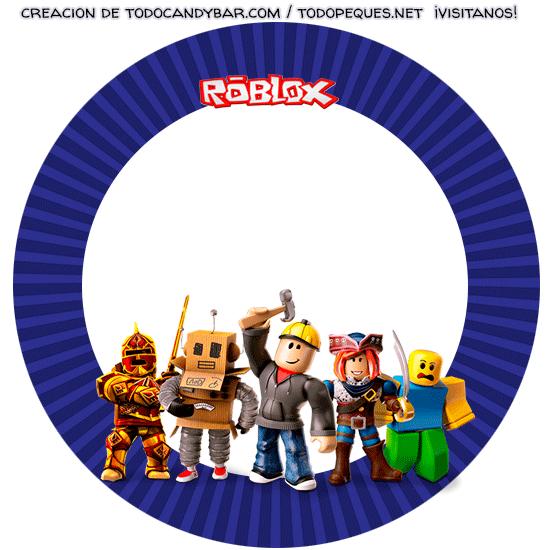 Kit Imprimible ROBLOX Descarga Gratis  Todo Candy Bar