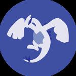 Minimalist Lugia Icon Free to use by Jedflah  Superhero