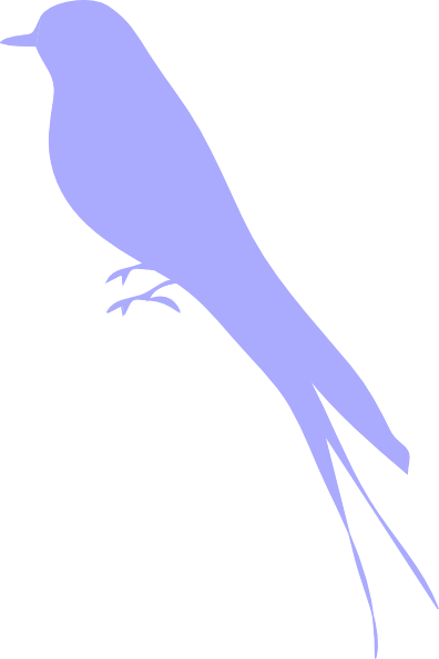 Bird Silhouette Clip Art at Clkercom  vector clip art