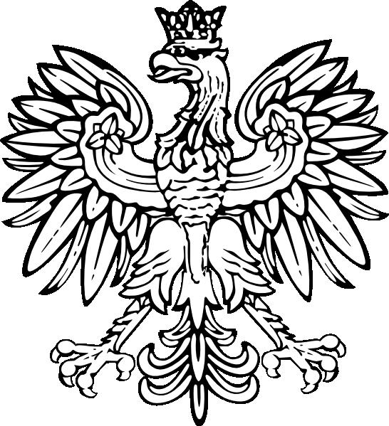 Poland designs  Polish Eagle clip art  vector clip art