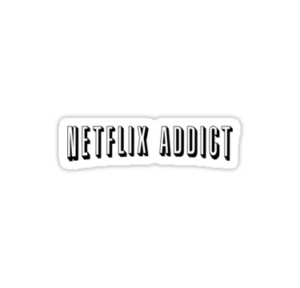 Netflix Addict by vestigator | Cool stickers, Bubble ... - Printable Netflix Logo