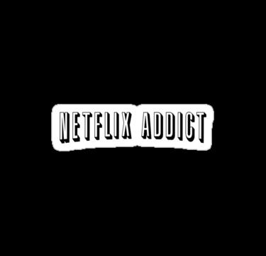 Netflix Addict by vestigator  Cool stickers Bubble