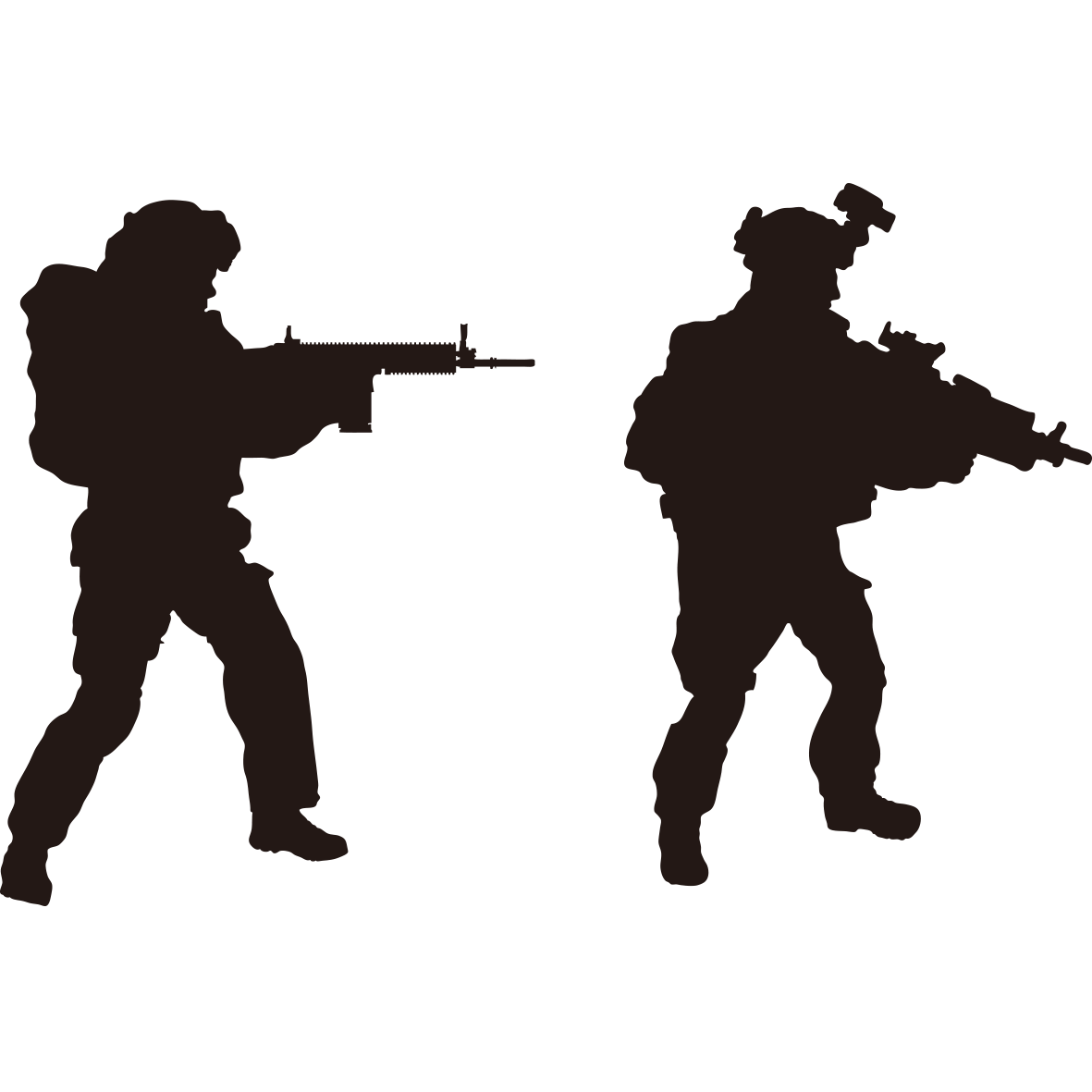 Soldier Silhouette Royalty-free Military - Interpol ... - Printable Soldier Silhouette