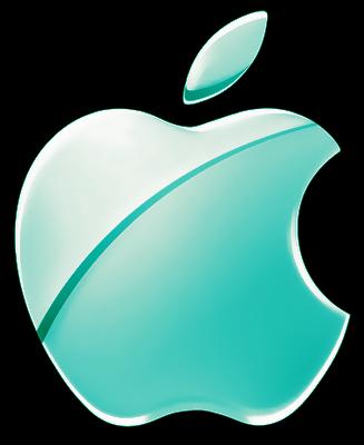 Blue Apple Logo by RiCkC on DeviantArt