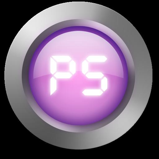 Photoshop Glowing Purple Icon PNG ClipArt Image  IconBugcom