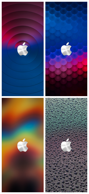 4 Cool Apple logo iphone wallpapers HD  WallpaperiZe