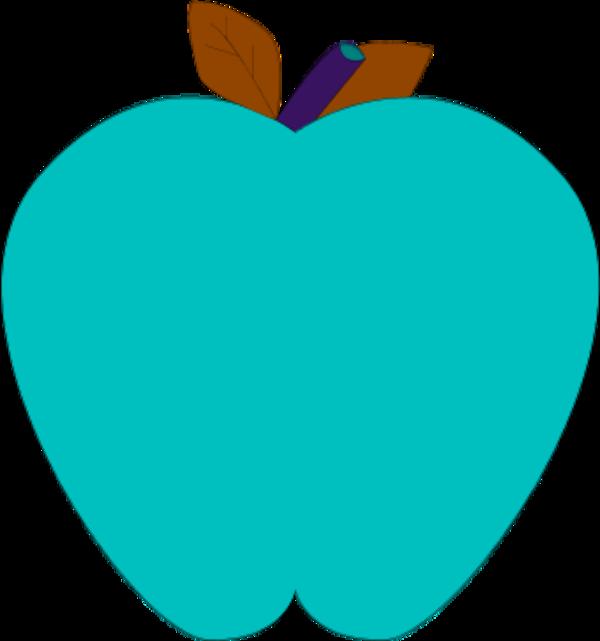 Color Apples Clipart  Blue Apple Clipart  Png Download