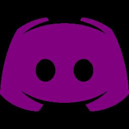Purple discord 2 icon  Free purple site logo icons